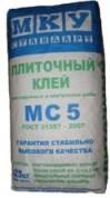 Плиточный клей МКУ Стандарт МС5 (25 кг)