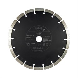 Алмазный диск S-10 ECO Line, d 230x2,6x22,23мм D.BOR - фото 10647
