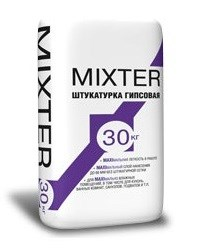 Штукатурка влагостойкая Старатели MIXTER (30 кг) - фото 4691