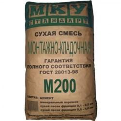 Монтажно-кладочная смесь М-200 (40 кг) - фото 4728