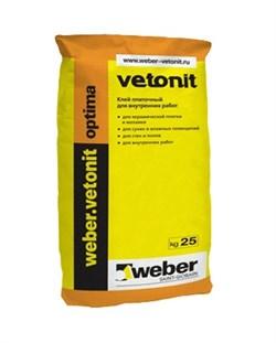 Клей для плитки Ветонит оптима (25 кг) - фото 4739