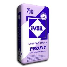 Плиточный клей для керамогранита IVSIL PROFIT (25 кг) - фото 4745