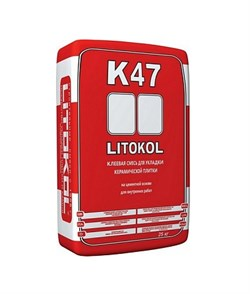 Плиточный клей литокол К-47 (25 кг) - фото 4748