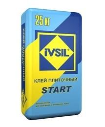 Плиточный клей IVSIL START (25 кг) - фото 4752