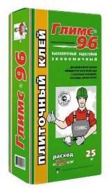 Плиточный клей Глимс-96 (25 кг) - фото 4754