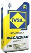 Шпатлевка фасадная IVSIL (20 кг) - фото 4762