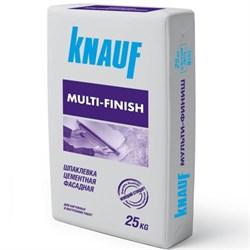 Кнауф Мульти-Финиш Шпаклёвка цементная фасадная (25 кг) - фото 4766