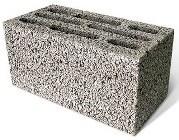 Керамзитобетонный блок 190x390x190 стеновой - фото 5031