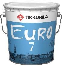 Краска интерьерная  Евро 7 матовая (9л) - фото 5041