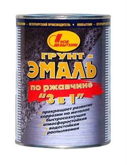 Грунт-эмаль по ржавчине Новбытхим Красный 3 в 1 (3л) - фото 5092