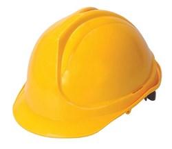 Каска строительная (желтая) - фото 5167