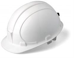 Каска строительная (белая) - фото 5528