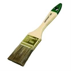 Кисть плоская STAYER LASUR-STANDART, смешанная щетина, деревянная ручка, 50мм