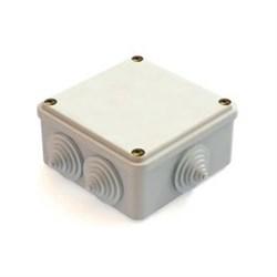 Коробка распаячная для открытой установки 100x100x50 мм