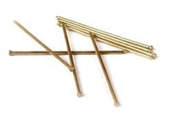 Гвозди финишные (латунные) ЗУБР Ø 1,6 х 35мм (40шт) - фото 7084