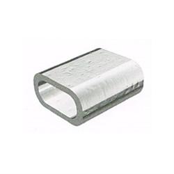 Зажим троса алюминиевый DIN 3093 4мм - фото 7145