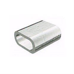 Зажим троса алюминиевый DIN 3093 16мм - фото 7151