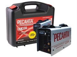 Сварочный аппарат инверторный РЕСАНТА САИ 220 в кейсе - фото 7603