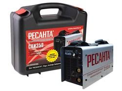 Сварочный аппарат инверторный РЕСАНТА САИ 250 в кейсе - фото 7607
