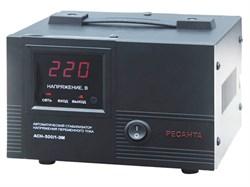 Стабилизатор напряжения РЕСАНТА ACH-500/1-ЭМ - фото 7680