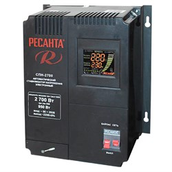 Стабилизатор напряжения РЕСАНТА СПН-2700В - фото 7708