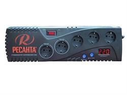 Бытовой однофазный цифровой стабилизатор РЕСАНТА С500 - фото 7722