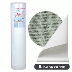 Стеклообои X-Glass SILVER Елка средняя (1х50м) - фото 7965
