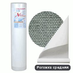 Стеклообои X-Glass SILVER Рогожка средняя 25м - фото 7969