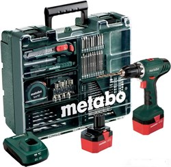 Аккумуляторная дрель-шуруповерт METABO BS 12 NiCd Set (602194880) - фото 8615