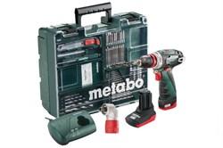 Аккумуляторная ударная дрель-шуруповерт METABO PowerMaxx BS Quick Pro (600157880) - фото 8667