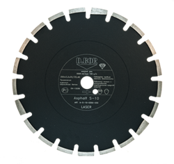 Алмазный диск S-10 Asphalt d 300x3,0x30/25,4 мм D.BOR - фото 8803