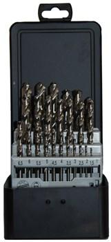 Набор сверл по металлу шлифованные D.BOR HSS-G 25 шт (1 - 13 х 0,5 мм.)  - фото 9350