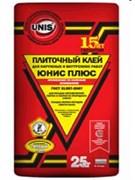 Клей плиточный Юнис Плюс (25 кг)