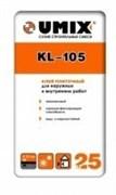 Плиточный клей UMIX KL-105 (25 кг)