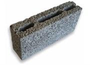 Керамзитобетонный блок 190x390x90 перегородочный