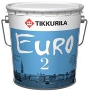Краска интерьерная TIKKYRILA Евро 2 (9л)