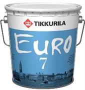 Краска интерьерная TIKKYRILA Евро 7 ,матовая (2,7л)