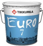 Краска интерьерная  Евро 7 матовая (9л)