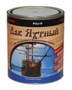 Лак Яхтный полуматовый Поли-Р (0,75л)