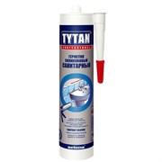 Герметик силиконовый санитарный TYTAN белый (310 мл)