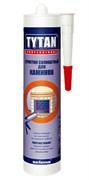 Герметик силикатный TYTAN (ТИТАН) Professional для печей и каминов,огнестойкий 310мл