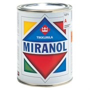 Tikkurila Миранол (Miranol), эмаль для дерева и металла (0,9л)