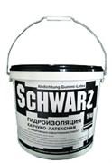 Гидроизоляция каучуко  латексная SCHWARZ (15 кг)