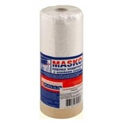 Пленка укрывная со скотчем (MASKO) 1,8х33м