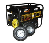 Электрогенератор HUTER DY6500LX (с аккумулятором и колесами)