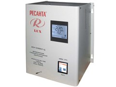 Стабилизатор напряжения РЕСАНТА LUX ACH-12000Н/1-Ц