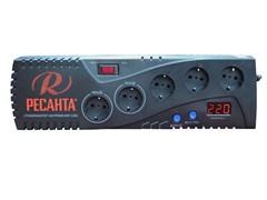 Бытовой однофазный цифровой стабилизатор РЕСАНТА С500