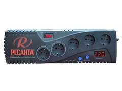 Бытовой однофазный цифровой стабилизатор РЕСАНТА С2000
