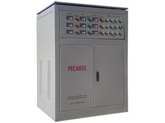 Трехфазный стабилизатор РЕСАНТА АСН-150000/З-ЭМ