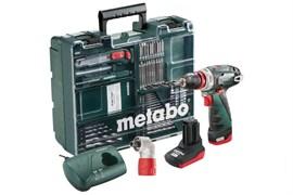 Аккумуляторная ударная дрель-шуруповерт METABO PowerMaxx BS Quick Pro (600157880)